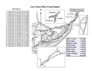 Last Chance BQ Course Map